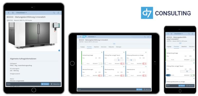 Mobile Digital Checklist for SAP PM / EAM