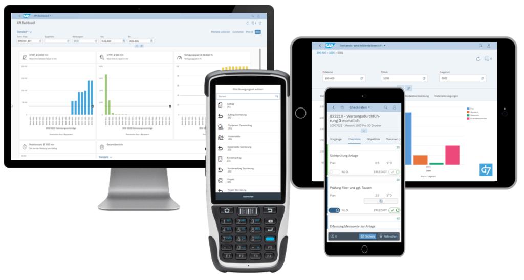 d7 Apps & microservices SAP Devices Scanner Tablets Desktop Phone
