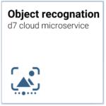 d7 cloud microservice Optische Erkennung von Objekten, Personen, Etiketten mit neuronalen Netzen